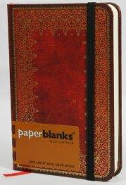 Бележник Paperblanks Old Leather Mini, Lined/ 3787