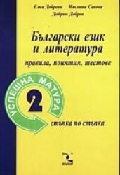 Успешна матура 2/Български език и литература: Правила, понятия, тестове