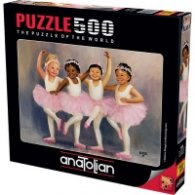 Пъзел - Малки балерини 500 части 3598