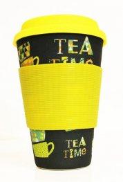 Еко чаша от бамбук Време за чай