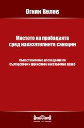 Мястото на пробацията сред наказателните санкции