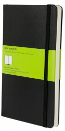 Бележник Moleskine Plain Notebook Large [Imitation Leather] 1146