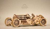 3D Механичен пъзел - Спортна кола 120686