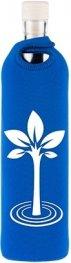 Бутилка FLASKA NEO DESIGN 0.7500L: Синьо - дърво на живота