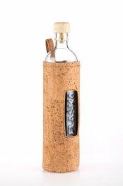 *Бутилка Flaska CORK - 0,500l: Естествен корк + коркова тапа /прозорче/