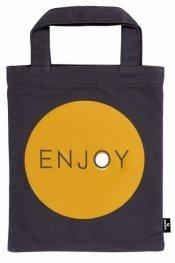 Чанта за книги - плат - Enjoy