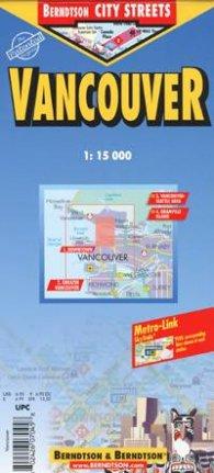 Vancouver: City Streets/ 1: 15 000