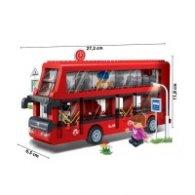Конструктор Бан Бао - Двуетажен автобус 8769