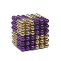 Magnetic Pixels Gold/Purple