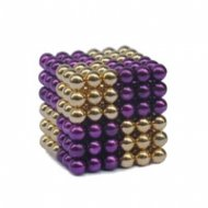 Magnetic Pixels Gold/Purple
