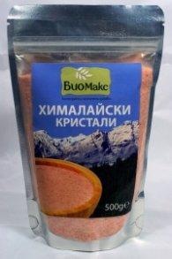 Хималайски розови кристали 500 гр, фино смлени: БиоМакс