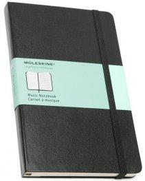 Бележник Moleskine Music Notebook Pocket [Hardcover] [5366]