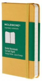 Бележник Moleskine Ruled Notebook Extra Small Golden Yellow [Hard Cover] [8464]