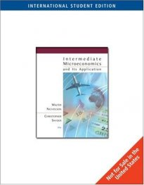 Intermediate Microeconomics, International Edition (with InfoTrac) 10e