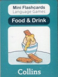 Mini Flash Cards Language Games; Food & Drink