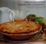 Calendar 2014: Country Cooking