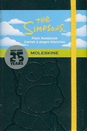 Бележник Moleskine The Simpsons Limited Edition Notebook Pocket Plain Black Hard Cover [4262]