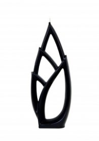 Свещ Alusi Livia Grande Black/ 0294
