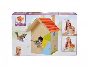 Къщичка за птици за оцветяване 100004581