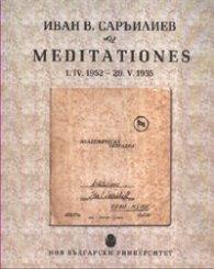 Meditationes 1.IV.1952 - 29.V.1955