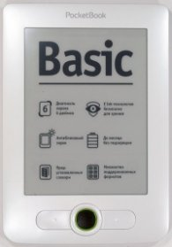 PocketBook Basic 2PB614W-D-WW White