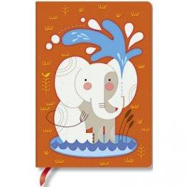 Бележник Paperblanks Baby Elephant, Midi Lined/ 5527