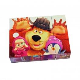 Маша и мечока - Кубчета за редене 109304088