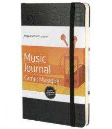 Moleskine Passion Notebook : Music [3209]